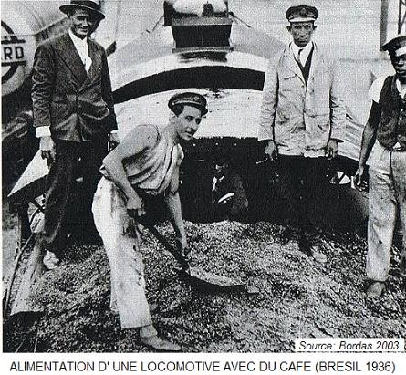café brésilien en 1936