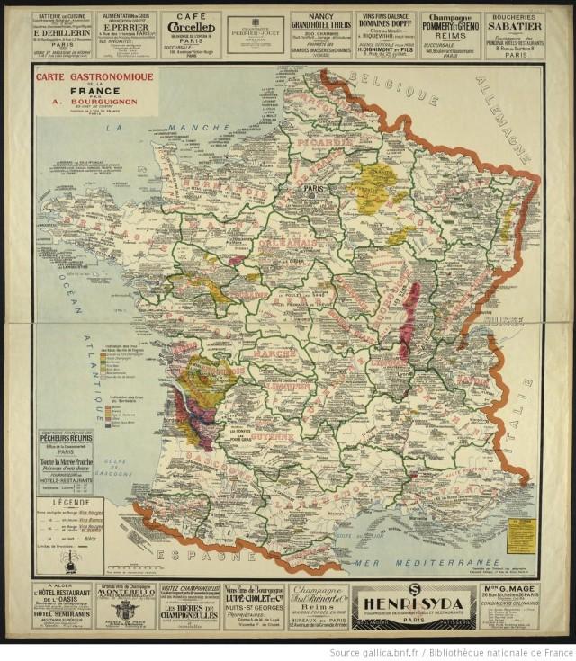 Carte_gastronomique_de_la_France_[...]Bourguignon_Alain_btv1b52504043q