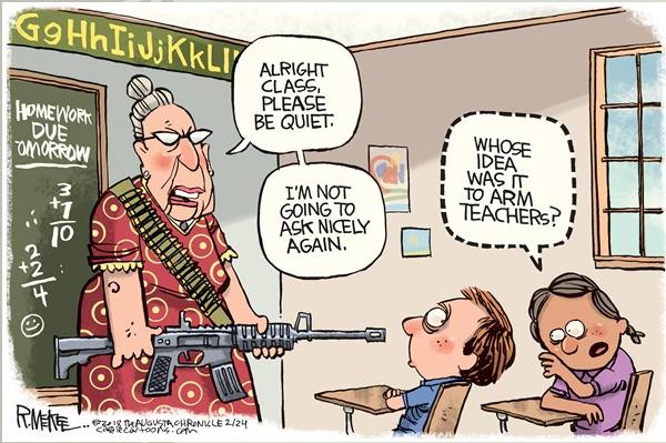 armes pour profs